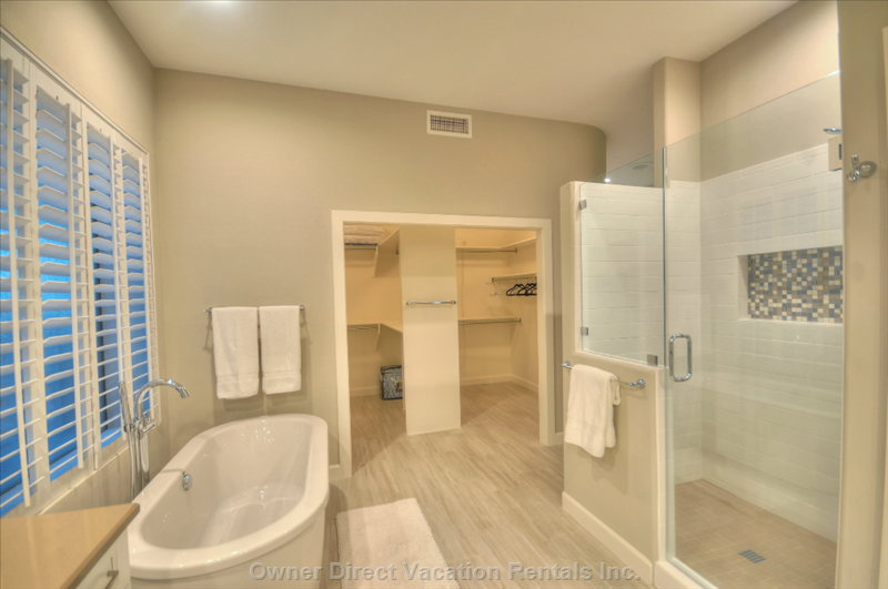 Walk in Closet Shower