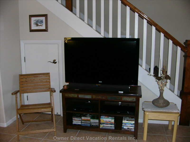 "42"" Hdtv with Dvd Player"