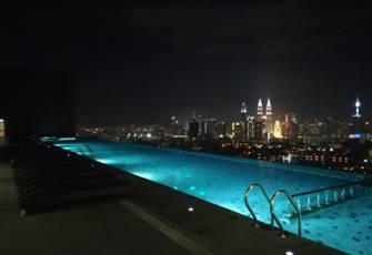 Luxury Duplex at Infinity Sky Pool Overlooking Klcc View