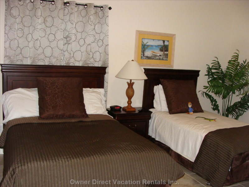 Guest Room with Double and Single Bed