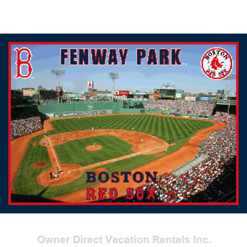 Fenway Park,  Home of the Boston Redsox.  Walk Or Take the Subway Inbound 1 Stop