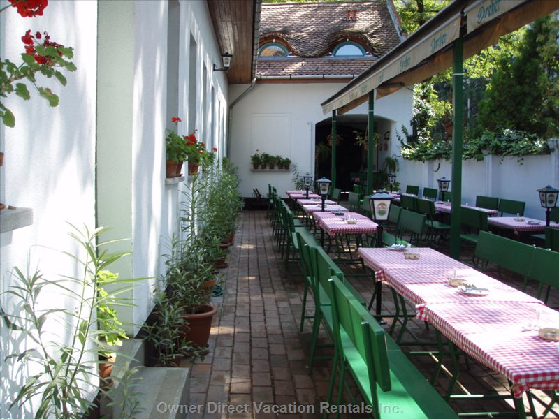 We Are Close to Typical Hungarian Garden-restaurants... like this
