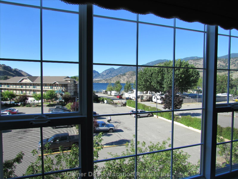 Skaha Lake View from the Living Room