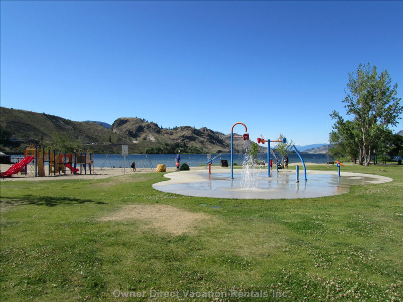 Water Spray Park in Kenyon Park