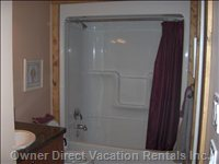 4 Piece Bathroom with Private Washer/Dryer Included
