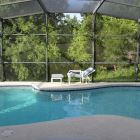 Enclosed Pool with Beautiful Conservation Views with Privacy Screening on Sides