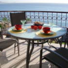 A Great Balcony for Eating,Watching the Sunrise & Surfers.