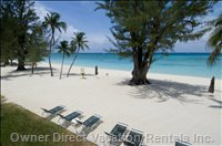 Just for You...No Sardine Effect Here!! Sun, Sand and the Beautiful Crystal Clear Water of the Caribbean Sea.