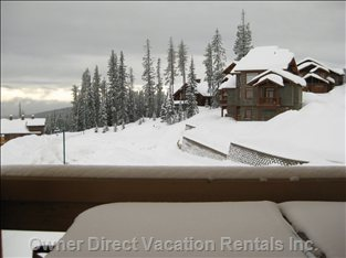 Winter Wonderland, View from the Hot Tub
