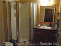 Two Ensuite Bathrooms with Showers. Heated Floors.