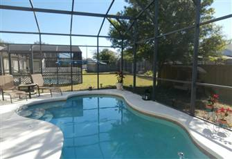 Beautiful Pool Vacation Home Just a few Minutes from Disney!