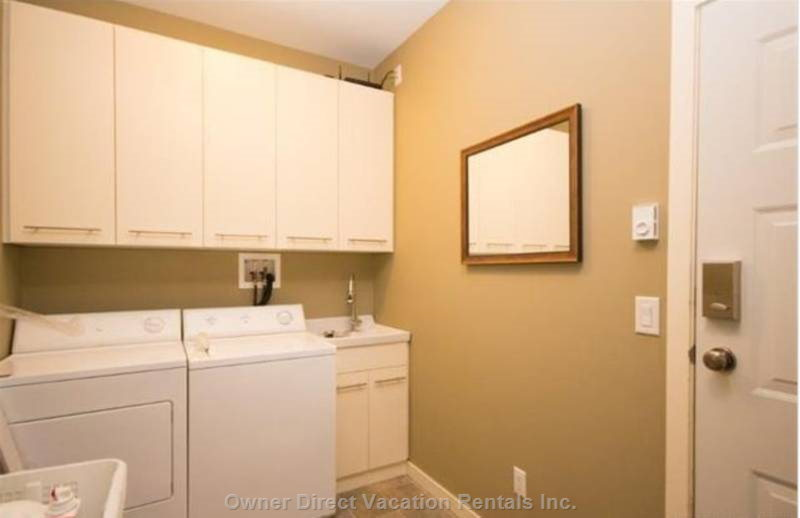 Laundry Room with Washer and Dryer