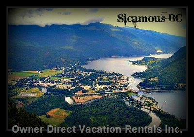 View of Sicamous BC