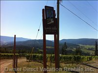 Larch Hill Winery - one of the Highest Elevation Wineries in Canada.