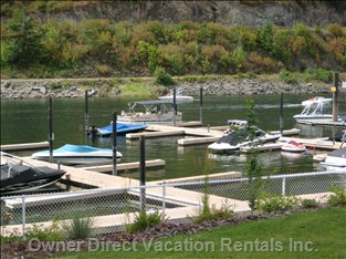 Sicamous - the Narrows - Marina