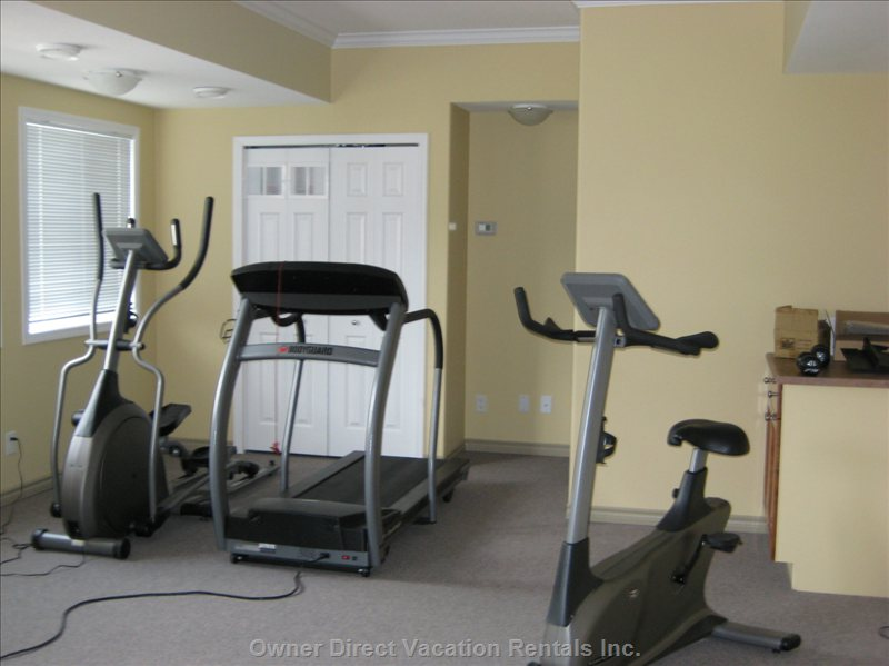 Sicamous - the Narrows - Exercise Room