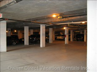 Sicamous - the Narrows - Underground Parking