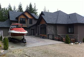 Executive Acreage Overlooking Mara Lake at Sicamous - ***Spectacular***