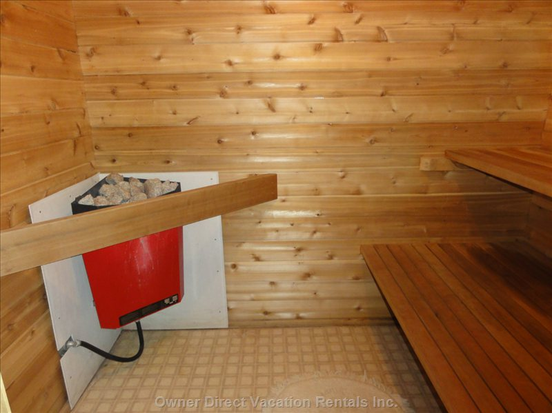 Sauna - Sauna Seats 4 to 6