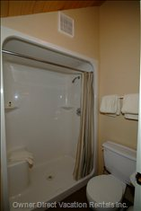 Ensuite Bathroom with Double Walk in Shower.  - Ensuite Includes Two Person Shower with Seat.
