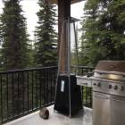 Bbq and Gas Heater on the Top Floor Balcony