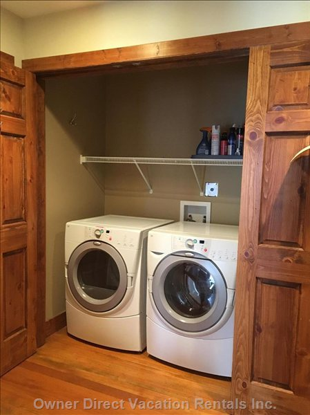 Private Laundry on Mid Level
