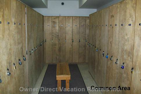 Ski Locker in Common Area.  Common Room and Ski Locker Codes Will be Provided for the Security of your Equipment.