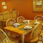 Solid Wood Table and Chairs for 6.