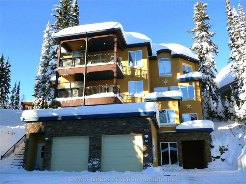 Front View from Monashee Road