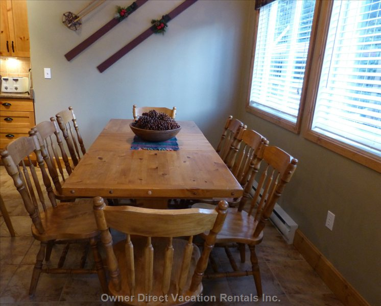 Dining Room Seats 8