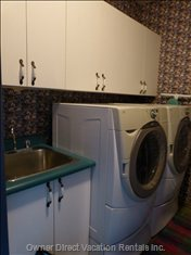 Suite Laundry Room