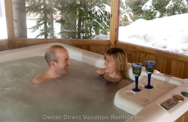 Chalet Private Hot Tub