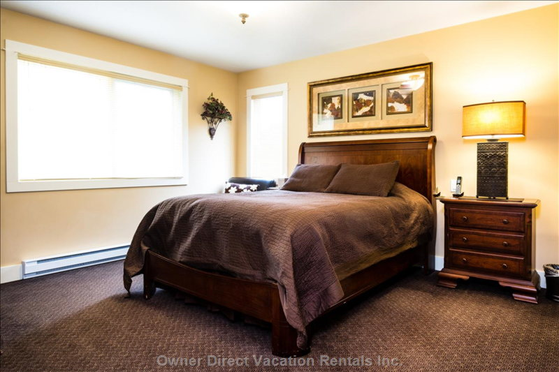 The 1st Master Bedroom has Views of Christmas Bowl. Enjoy your Own Ensuite and Ample Space to Rest and Relax.
