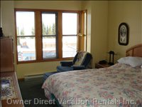 Master Bedroom - Enjoy Sitting in a Sunbeam While Reading in the Alcove.