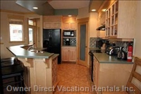 Complete Kitchen with all Appliances and Walk-in Pantry