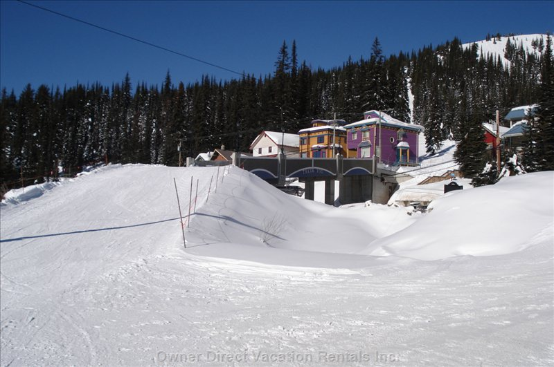 Ski Bridge from the Christmas Bowl