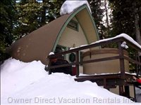 Private Chalet - Private Yet Convenient Ski in Ski out Chalet, Located in the Original Cabin Colony.
