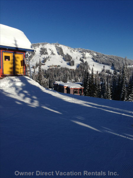 View from the Top of the Silver Queen Chair