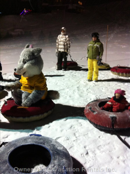 Night Time Tubing Fun