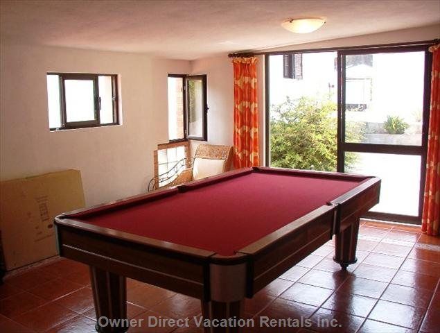 Games Room, Snooker