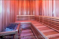 Sauna for 6/8 People