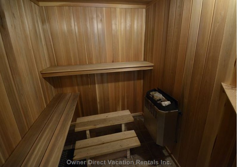 Private 8 Person Sauna