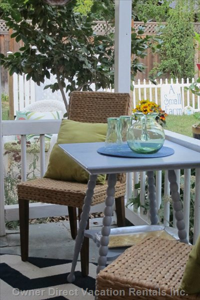 Table on Veranda
