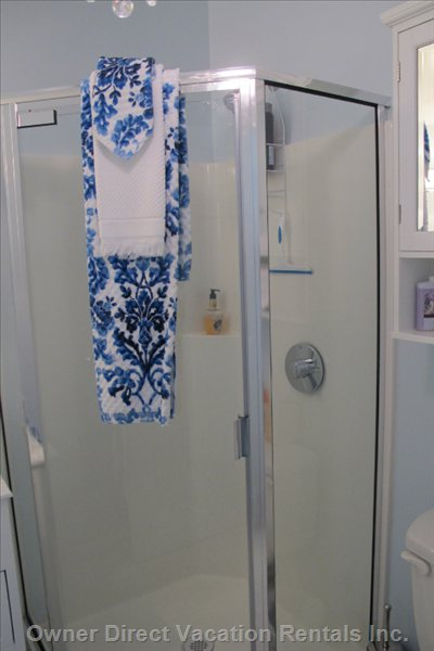 New Stall Shower
