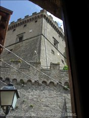The Castle from a Window of the Dining Room
