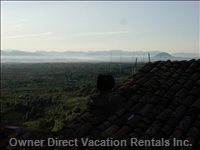 From the Balcony: the Tiber Valley and the Apenines