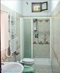 Large and Well Furnished and Tiled Bathroom