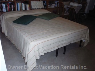Double Bed which Can be Split in Two Single Beds If Required.