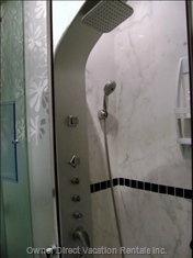 Shower Cabin with Massage Column
