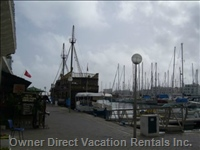 Marina of Port Kantaoui (5min from the Residence)